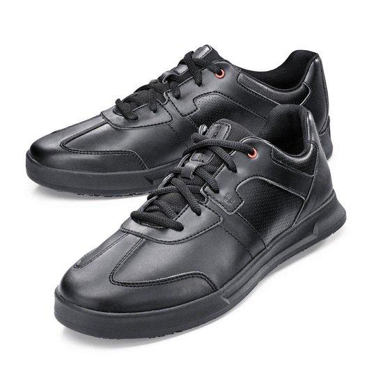 Koksschoen freestyle met de beroemde zool van shoes for crews als prachtige sneaker.