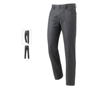 Courbet denim pantalon voor de keuken of bediening.